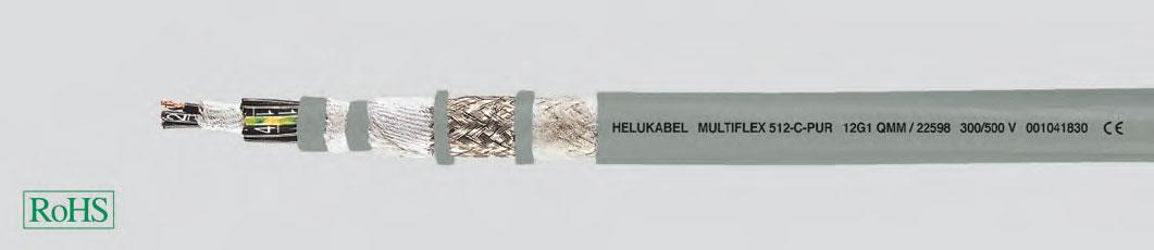 Специальный кабель для энергетических цепей при экстремальных условиях эксплуатации, без галогенов