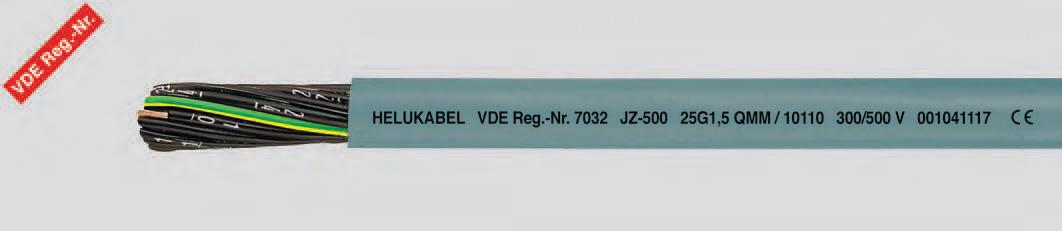Гибкий кабель с цифровой маркировкой жил