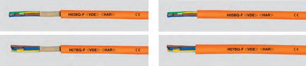Изолированные этилен-пропиленом провода для силовой электропроводки с полиуретановой оболочкой