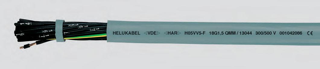 с цифровой маркировкой жил, гибкий, утвержденный стандартом VDE
