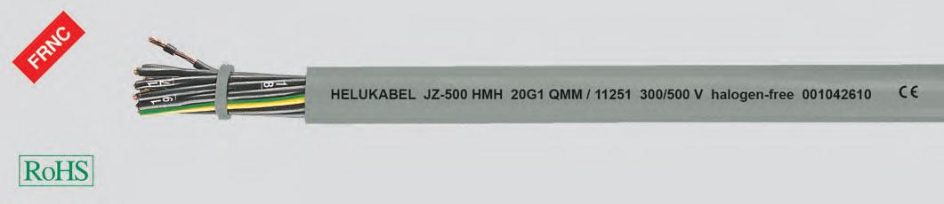 гибкий кабель управления, маслостойкий, без галогеносодержащих веществ1)