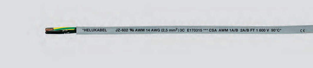 Кабель управления, 908С 600 В, имеющий сертификаты UL-CSA