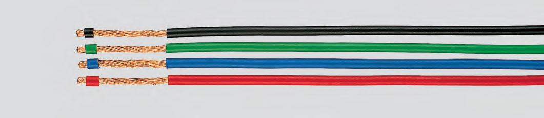 1 kV многопроволочный, повышенная гибкость