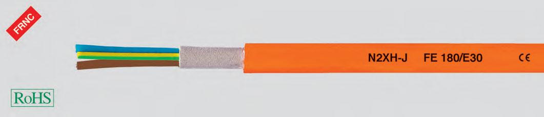 Кабель повышенной безопасности, без галогенов, 0,6/1 кВ, с улучшенными характеристиками пожароустойчивости