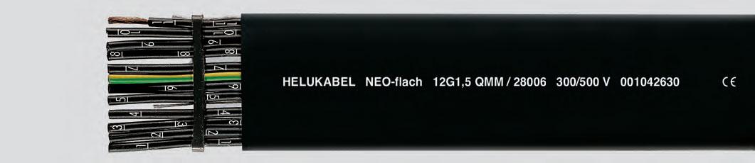 НЕОпреновые-плоские кабели