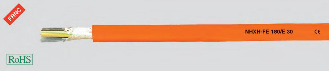 Кабель повышенной безопасности, без галогенов, 0,6/1 кВ, с улучшенными характеристиками пожаростойкости