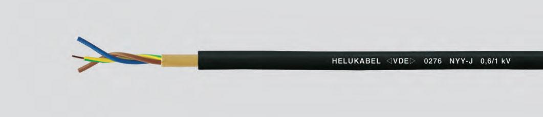 Кабель для прокладки в земле 0,6/1 кВ, протестирован VDE