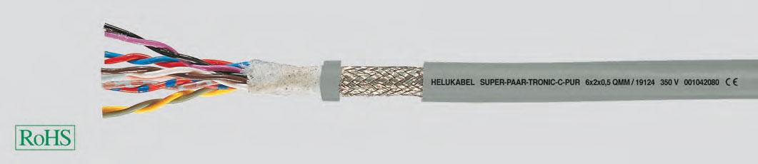 приоритетный ЕМС-тип, без галогенов, для использования в цепных транспортерах, с маркировкой метража